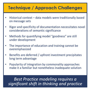Drawing Distinctions Among Data Modeling Challenges: Tool vs. Technique