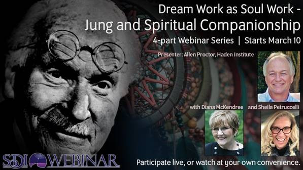 SDI Webinar: Dream Work as Soul Work – Jung & Spiritual Companionship