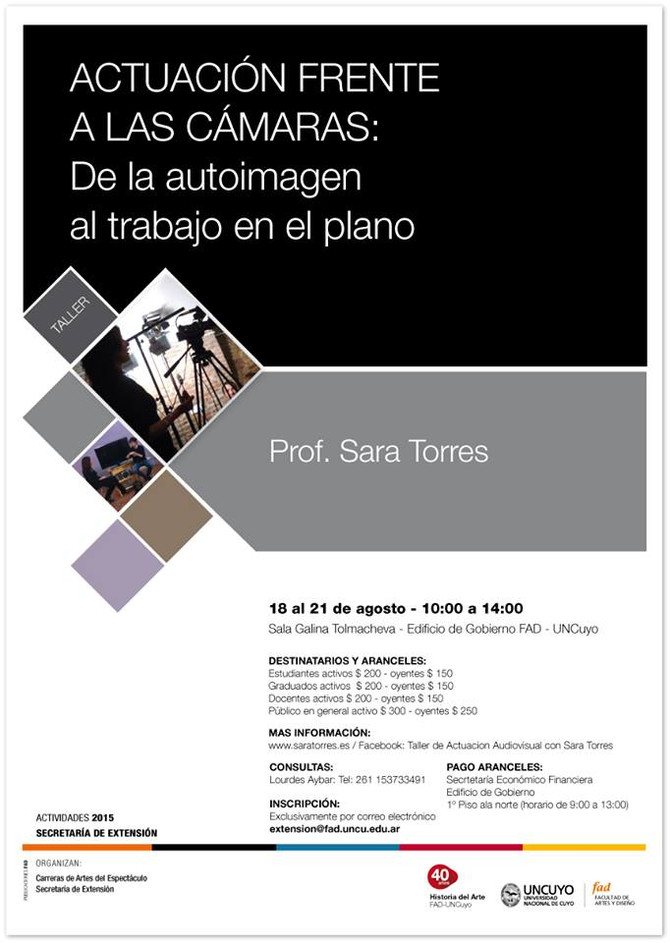 Curso en Universidad Nacional de Cuyo- Argentina