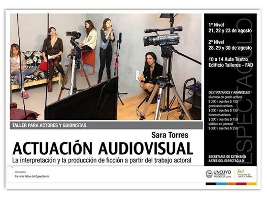 CURSOS DE ACTUACION AUDIOVISUAL EN MENDOZA, SAN JUAN Y SAN LUIS