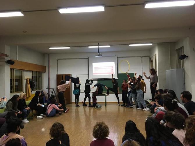Jornadas de Artes Escénicas e Intervención Social. Universidad de Granada.