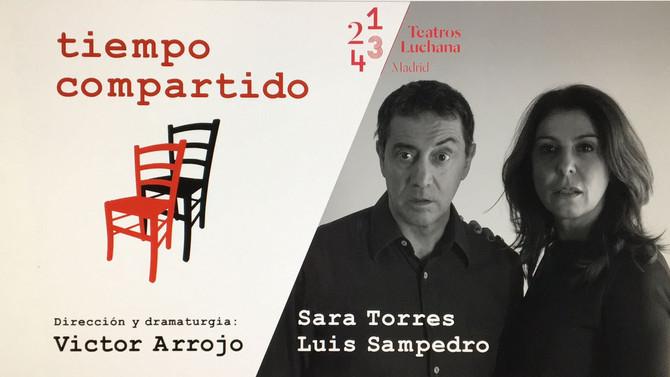 """""""TIEMPO COMPARTIDO"""" en Teatros Luchana"""