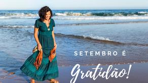 Setembro é gratidão!