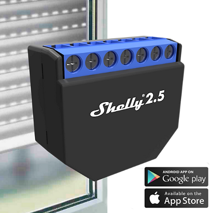 Shelly 2.5 para Persianas