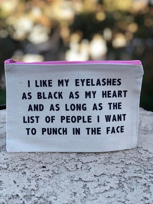 I Like My Eyelashes-Pink