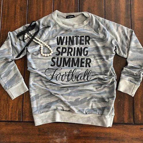 Winter, Spring, Summer, Football
