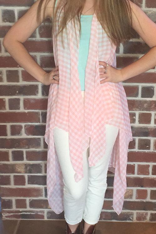 Checkered Kimono