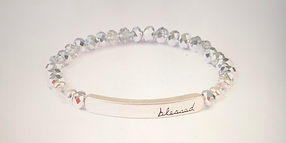 Blessed Bead-Silver