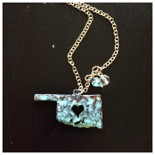 Turquoise Oklahoma Necklace