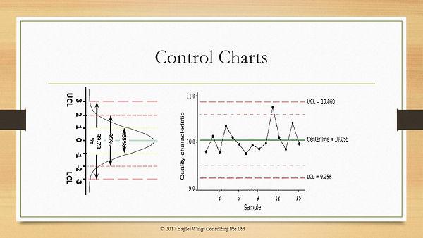 Lean Six Sigma Control Chart