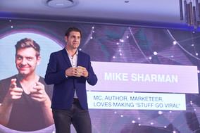 MC Mark Sharman
