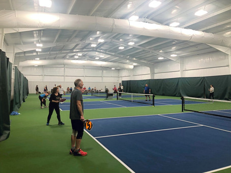 Men's Mini Pickleball Tournament and Open Play