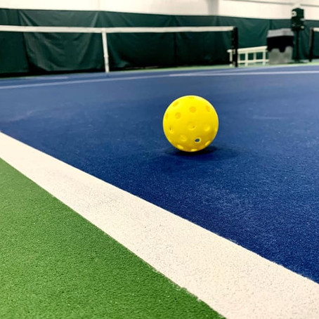 Indoor Pickleball Courts are Officially Open