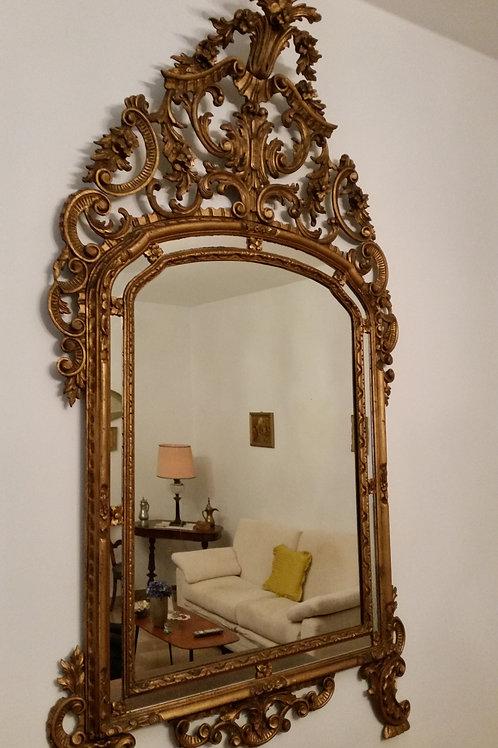 Specchiera in stile Luigi XV