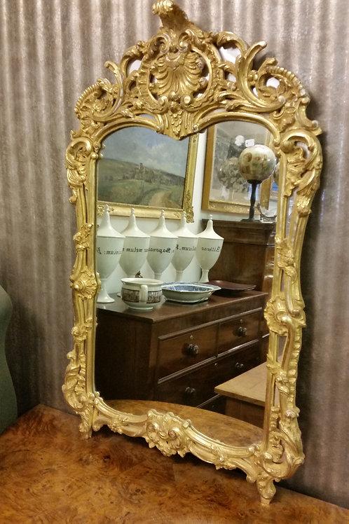 Specchiera in stile Luigi XIV