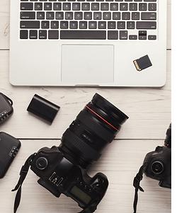 Photographers equipment