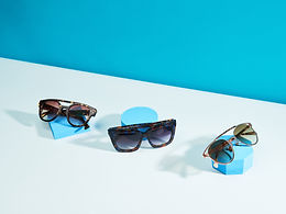 Styled product photography image of sunglasses
