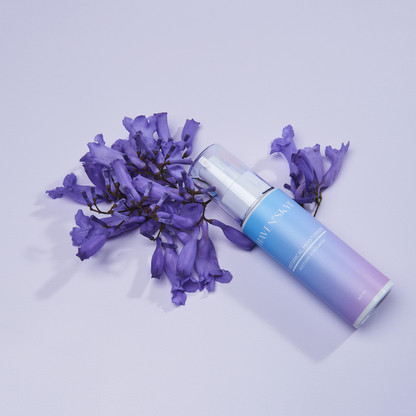 Styled product photography skin care