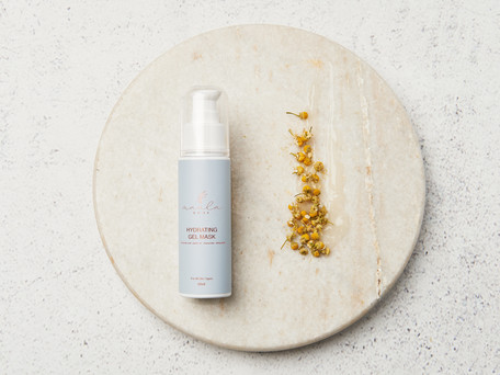Styled product photography beauty