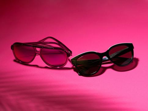 Social media content eyewear