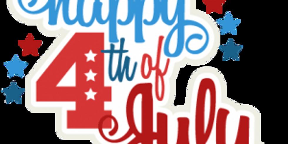 4th of July Celebration!