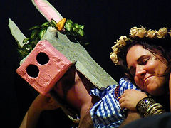 Serena Carbone, Teatro Genva