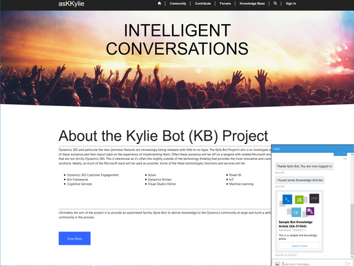 Kylie Bot Part 11 - Undocumented Features