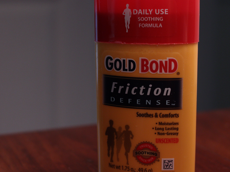 Run and Drum Gear Review: Gold Bond Friction Defense