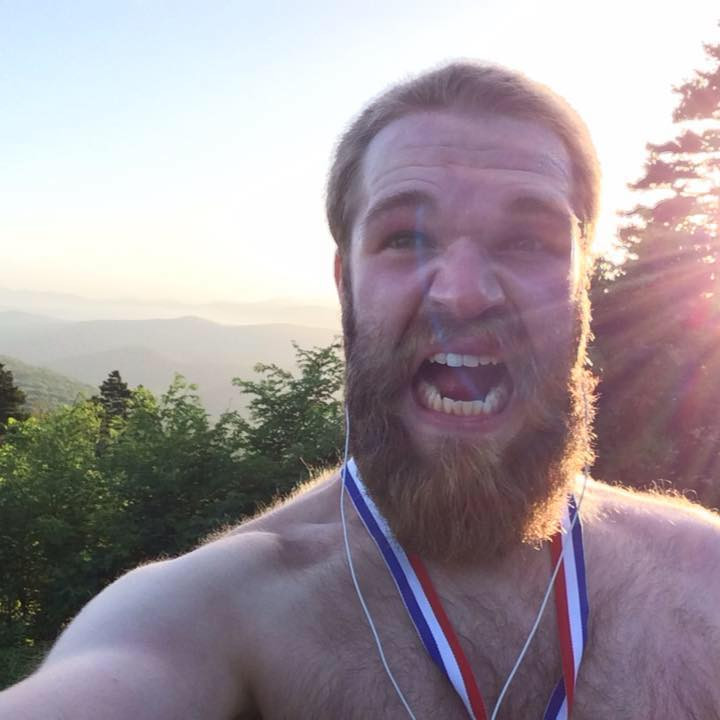Post Bear Selfie - Run and Drum