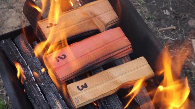 Огнезащитная эффективность деревянных конструкций