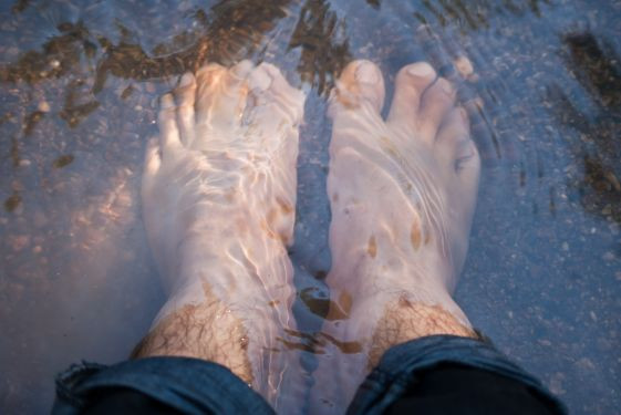It is important to release all blocked areas of the body (head to toes), through the feet.