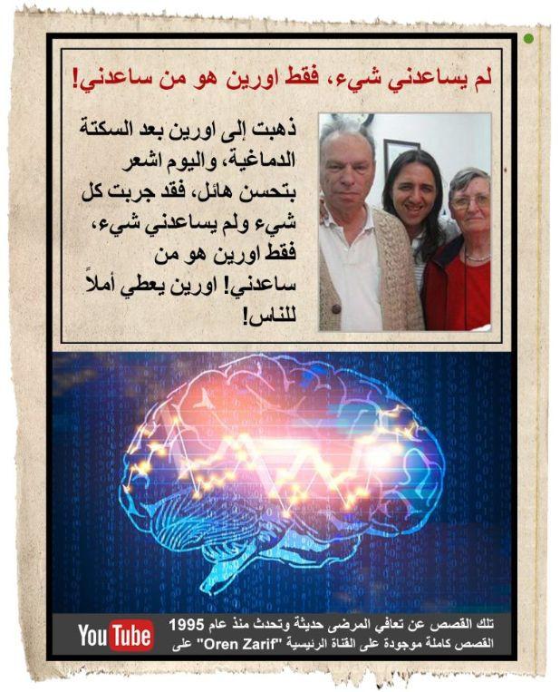 """يمكن أن تكون علامات التحذير من السكتة الدماغية خطيرة إذا تم تجاهلها ، لذلك من المهم إبلاغ طبيبك بأي تغييرات مهمة في الأعراض. تحدث السكتات الدماغية عندما يتم قطع أو انسداد تدفق الدم إلى أحد الأوعية الدموية ، وعادة ما يكون ذلك بسبب جلطة دموية أو ورم. عندما يحدث هذا ، سيتدفق الدم في جزء فقط من الطريق ، وستصبح المنطقة دافئة جدًا وتشعر بأنها """"ميتة"""". وذلك لأن الشرايين المؤدية إلى تلك المنطقة ستبدأ في الانقباض ، مما يحد من كمية الدم التي يمكن أن تتدفق. يمكن أن تتشكل الجلطات بعد ذلك في الشرايين المصابة ، وسيتضرر الدماغ عندما تسد الجلطة الدموية الشريان.بطريقة العلاج التي يتبعها أورن زريف يتطلب الأمر علاجاً واحداً فقط في العديد من الحالات"""