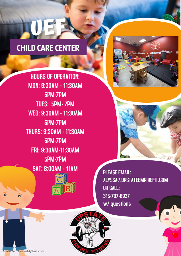 Copy of Daycare Center Flyer - Made with