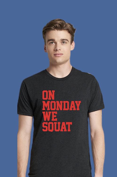 Squat shirt -Unisex Crew Neck