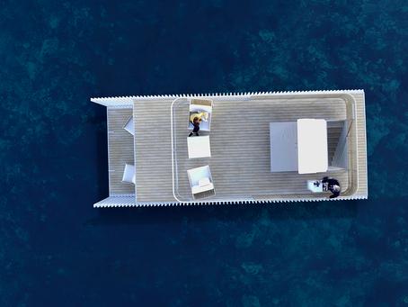 Punta de Mar, innovador concepto de alojamiento flotante sostenible