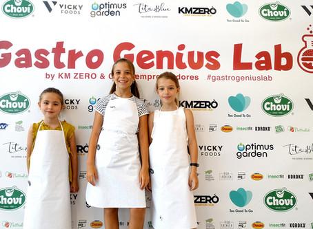 40 niños y niñas diseñan la alimentación del futuro en 'Gastro Genius Lab'