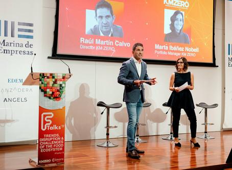 Startups foodtech innovadoras y colaboración con la industria en Ftalks'19