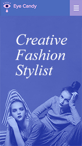 Fashion & Accessories website templates – Creative Fashion Stylist