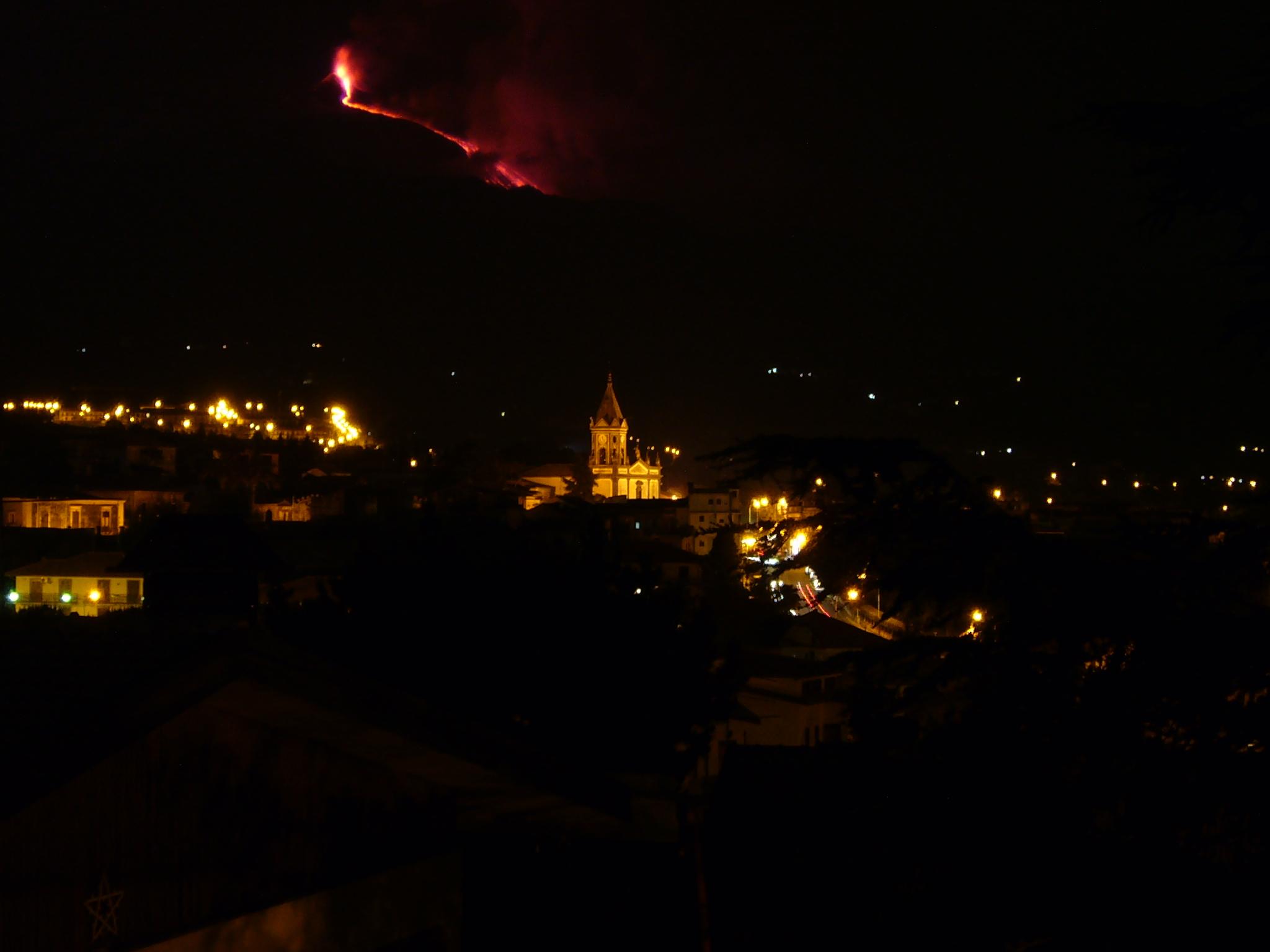 Trecastagni with Etna
