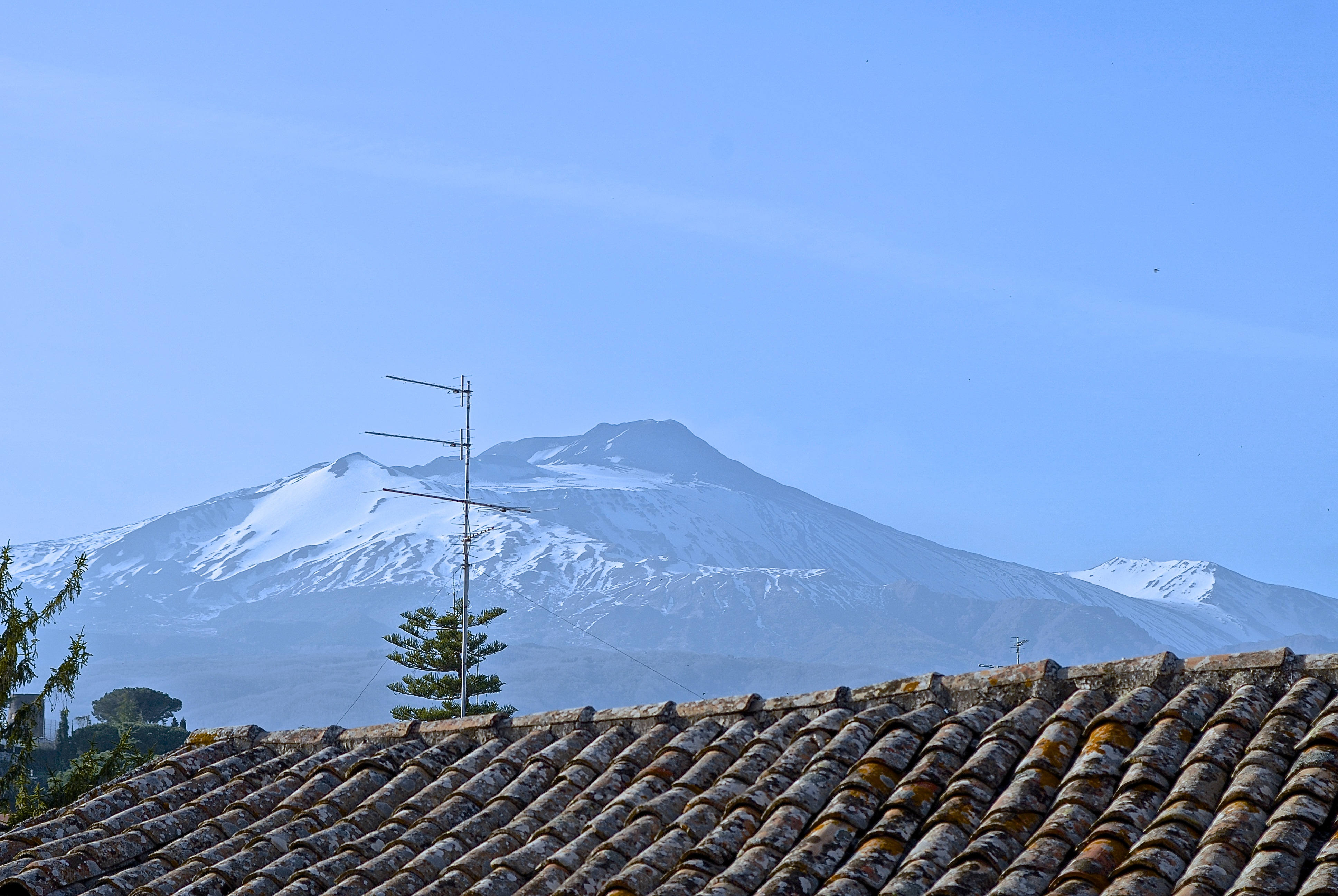 View of Mt Etna