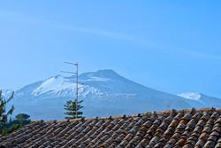 View of Mt Etna