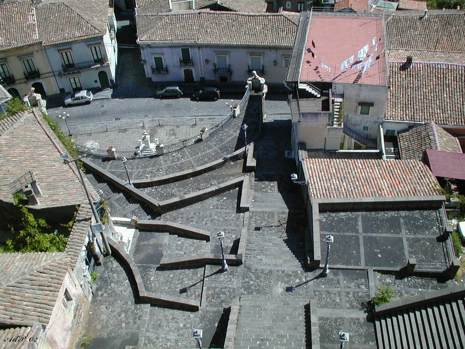Vista dalla Chiesa della Matrice