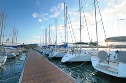 Catania's harbour