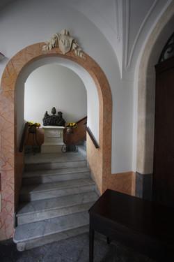 Entrée principale du Palazzo Consoli