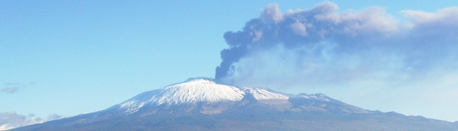 Etna during an eruption