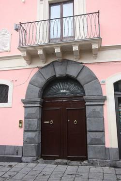 Main entrance in Corso V.Emanuele