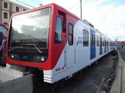 Catania's metro train
