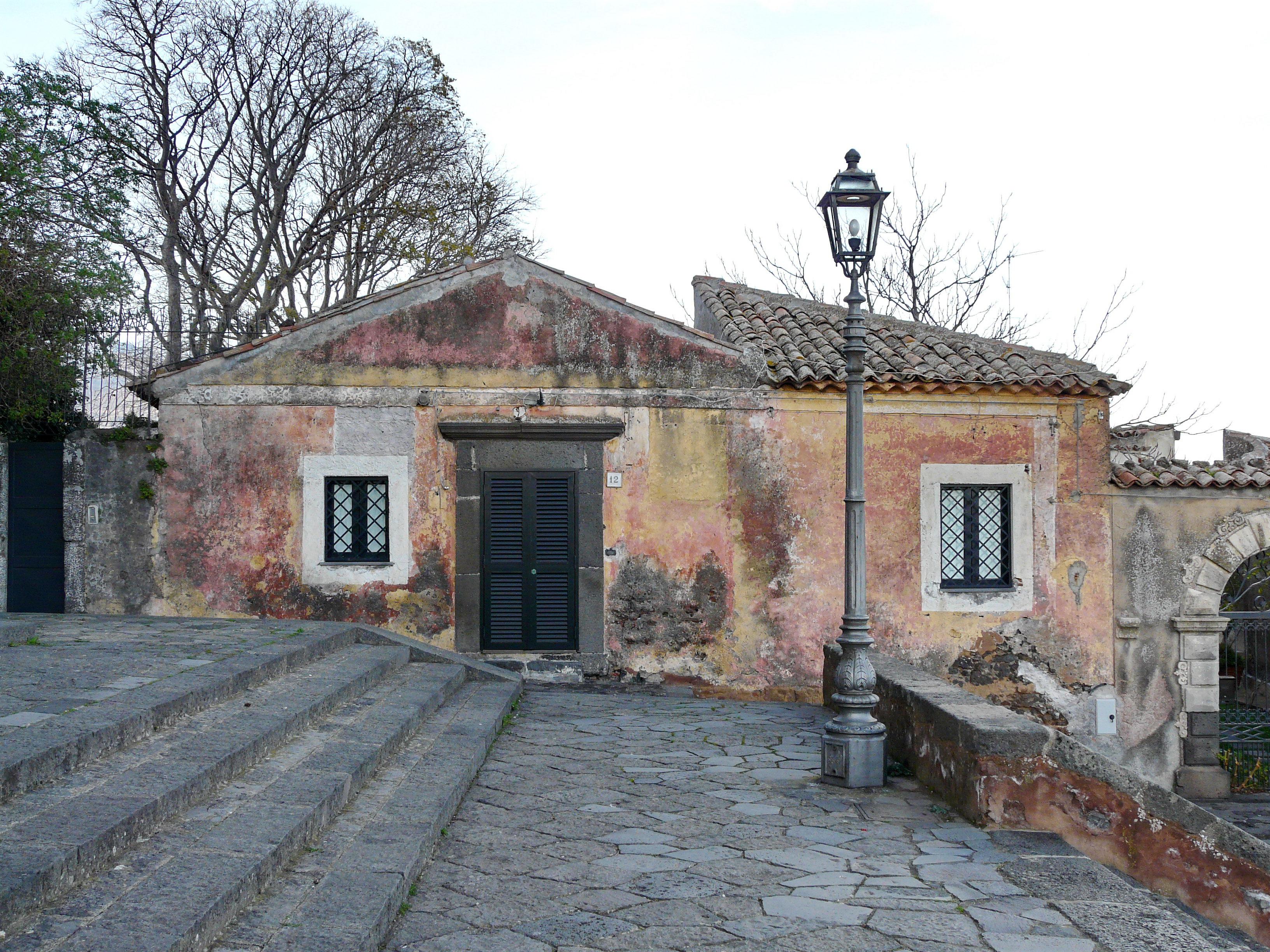 Steps to St Nicholas church