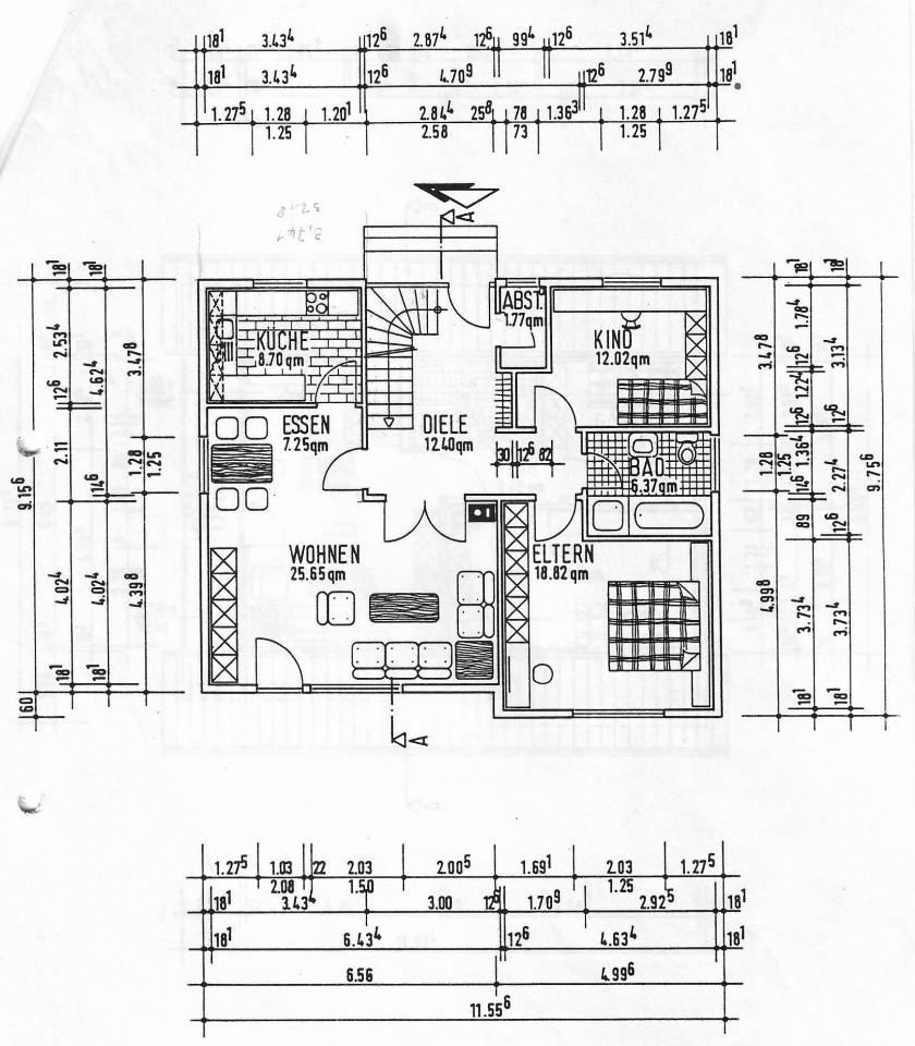 Grundriss Erdgeschoss (Custom)