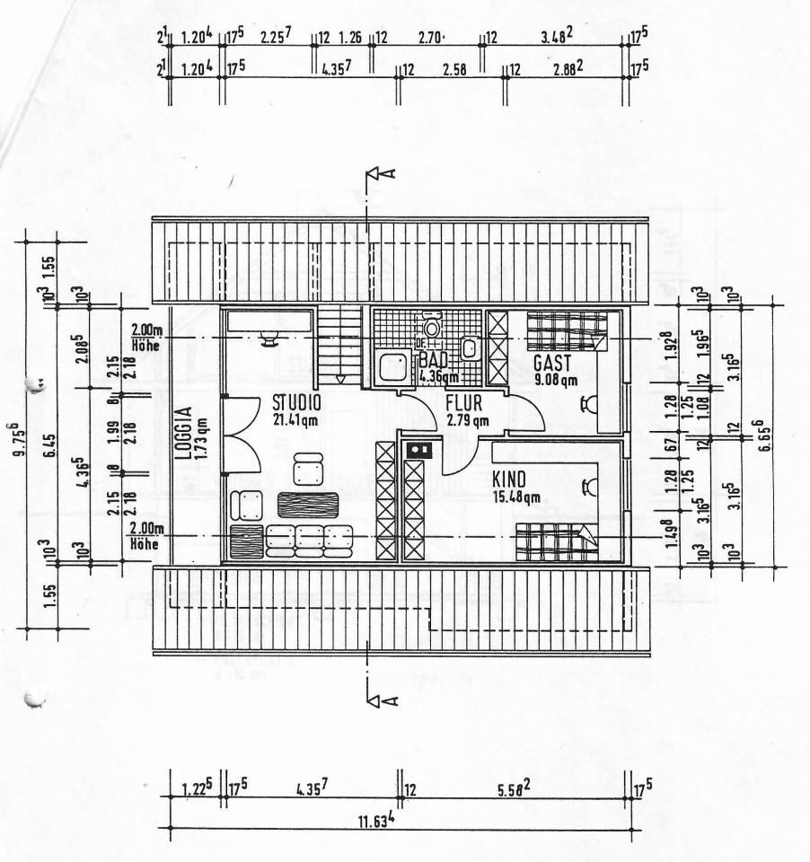 Grundriss Dachgeschoss (Custom)